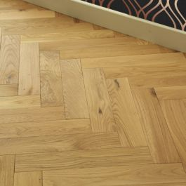 Real Wood Engineered Flooring 14mm Click Herringbone