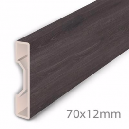 Aqua Step Skirting Board Anthracite Oak Lfdirect Laminate