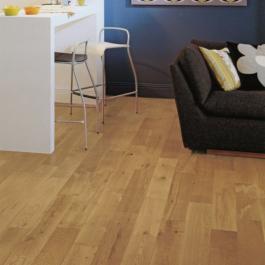 Elka Solid Wood Flooring 18mm Rustic Oak Brushed Amp Oiled