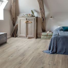 Quick Step Livyn Pulse Click Cotton Oak Grey With Saw Cuts