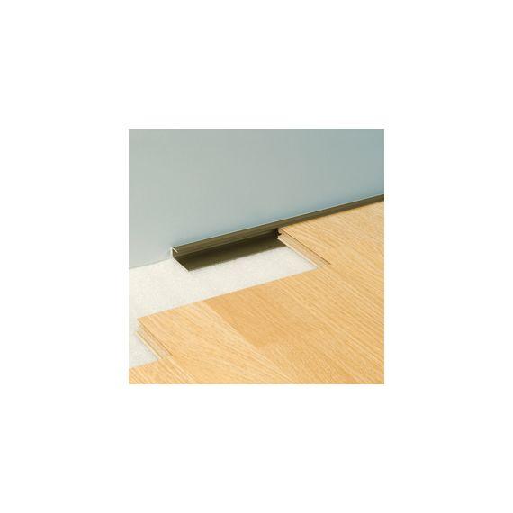Floor-End U-Profile 270cm - Bronze (9mm)