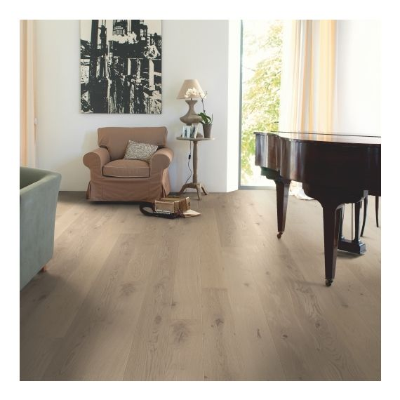 Quick-Step Flooring Parquet Compact Oak Cobblestone Grey Extra Matt