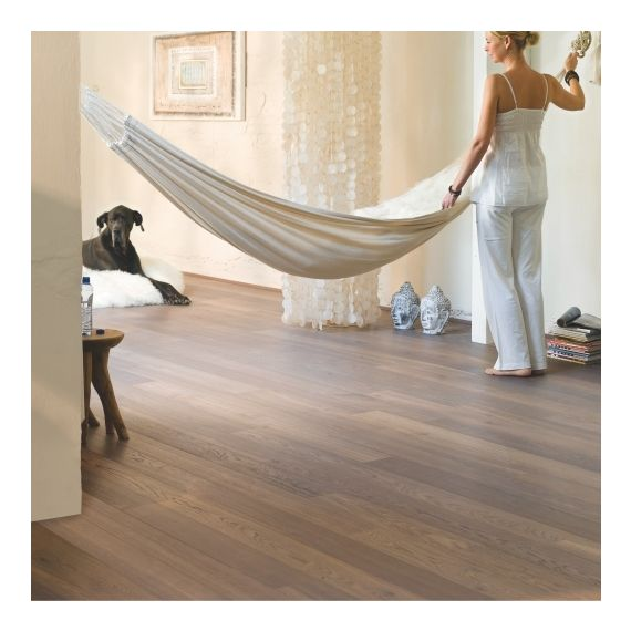 Quick-Step Flooring Parquet Castello Cappuccino Oak Oiled