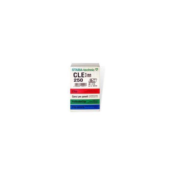 Cle 3mm Carton - 250 pcs