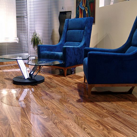 Elesgo Supergloss Flooring Dark Walnut Original