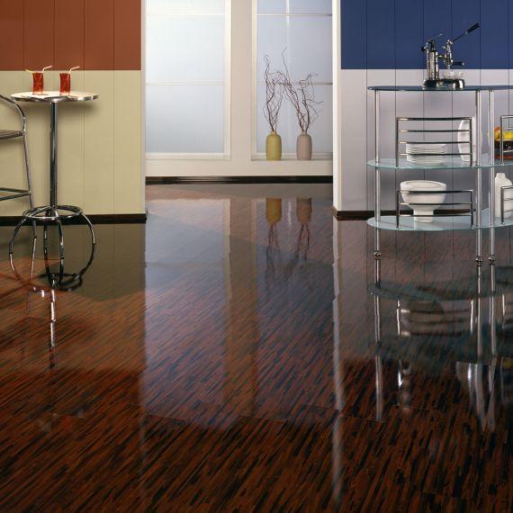 Elesgo High Gloss Shiny Life Rio Palisander HDM Laminate Flooring
