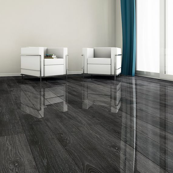 High Gloss Glamour Life Pott Oak Elesgo Laminate Flooring