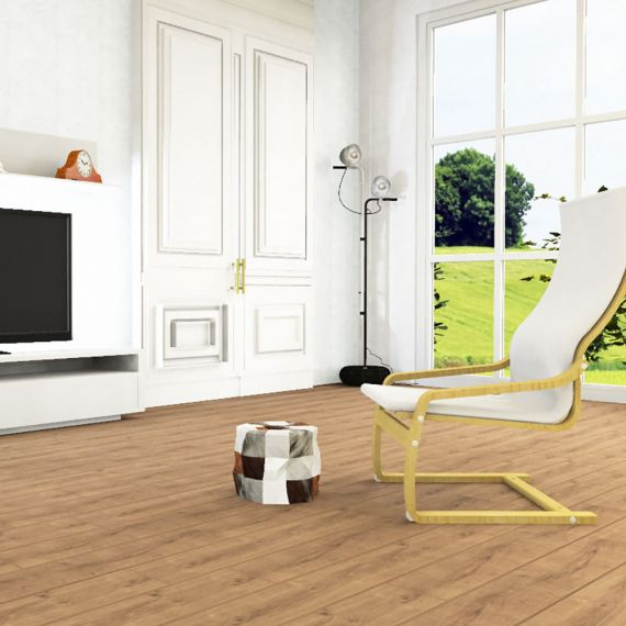 Elesgo Natural Life Amber Oak Laminate Flooring