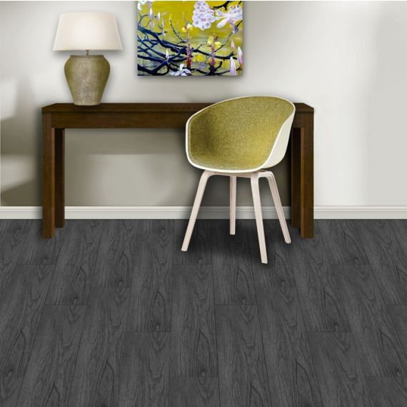 Aqua-Step Vinyluxe Anthracite Oak Waterproof Laminate Flooring