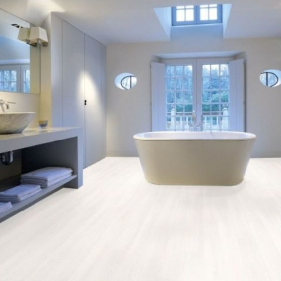 Aqua-Step Ultra White Original Waterproof Laminate Flooring
