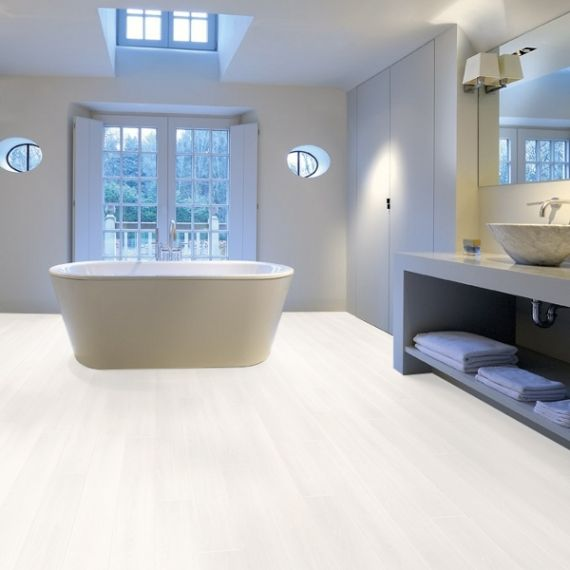 Aqua-Step Ultra White Wood V4 Waterproof Laminate Flooring