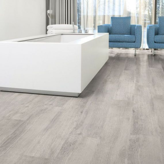 Aqua-Step Oak Grey Original Waterproof Laminate Flooring