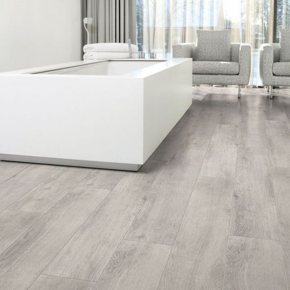 Aqua-Step Oak Grey Wood V4  Waterproof Laminate Flooring