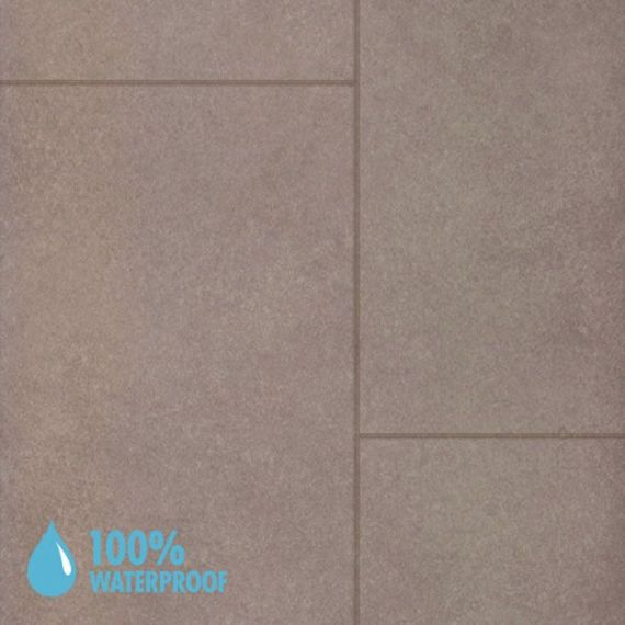 Aqua-Step Parcostone Waterproof Laminate Flooring V4 Tiles Ipanema Sand