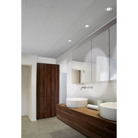 AVANTI AQUA Embossed White Cieling and Wall Panelling