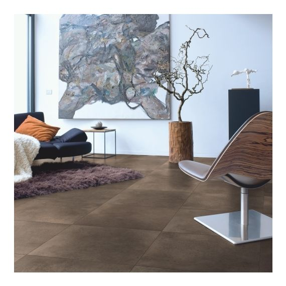 Quick Step Arte Polished Concrete Dark UF1247 Laminate Flooring