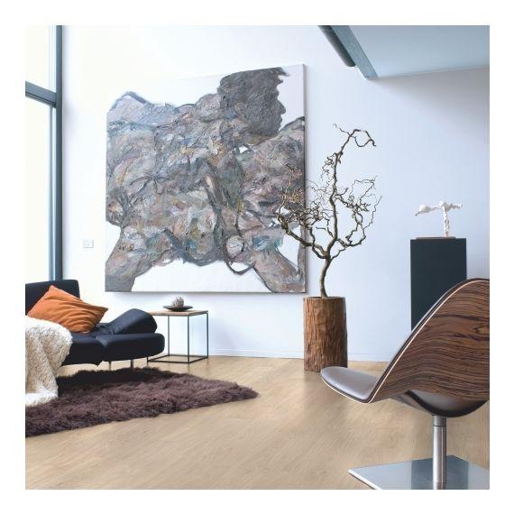 Quick-Step Eligna Light Grey Varnished Oak Planks EL1304 Laminate Flooring