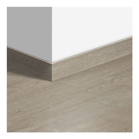 Quick-Step Livyn Waterproof Skirting Boards Cotton Oak Warm Grey