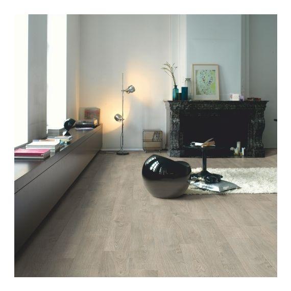 Quick Step Classic Old Oak Light Grey CLM1405 Laminate Flooring