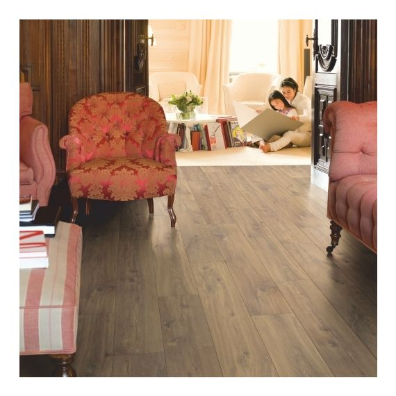 Quick Step Flooring Classic Midnight Oak Brown CLM1488 Laminate Flooring