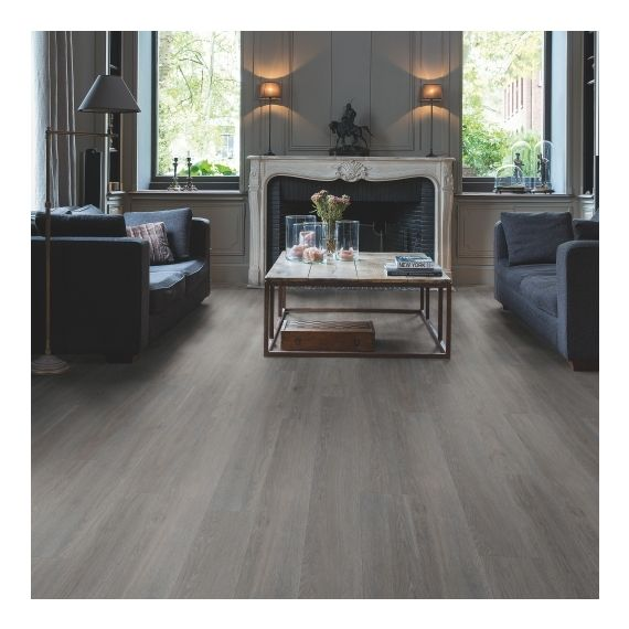 Quick Step Flooring Livyn Balance Click Silk Oak Dark Grey BACL40060 Luxury Vinyl Flooring