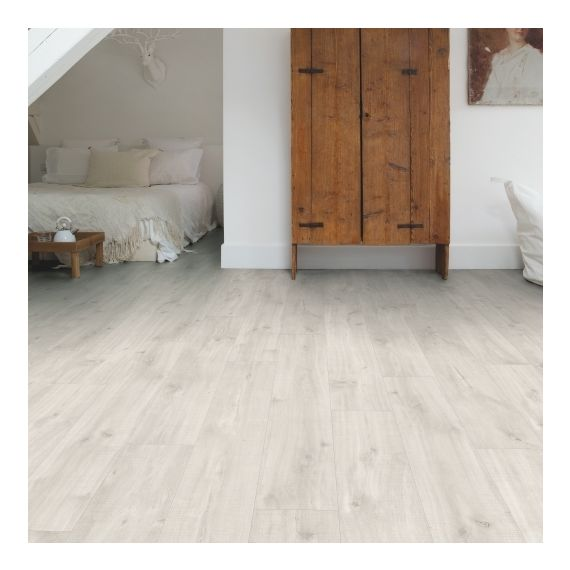 Quick Step Livyn Balance Click Canyon Oak Light With Saw Cuts BACL40128 Luxury Vinyl Flooring