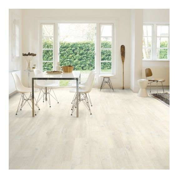 Quick Step Creo Charlotte Oak White CR3178 Laminate Flooring
