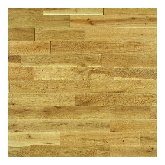 Elka Solid Wood Flooring 18mm Rustic Oak Brushed & Oiled
