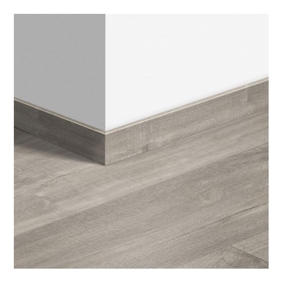 Quick-Step Livyn Waterproof Skirting Boards Canyon Oak Grey With Saw Cuts