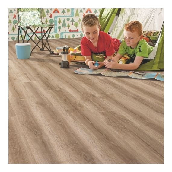 Elka Honey Oak 8mm 4V Laminate Flooring