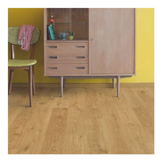 Quick-Step Flooring Eligna White Oak Light Planks EL1491 Laminate Flooring