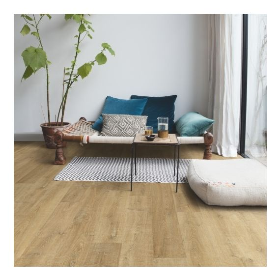 Quick-Step Flooring Eligna White Varnished Oak Planks EL3578 Laminate Flooring