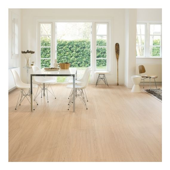 Quick-Step Eligna Wide Oak White Oiled Planks UW1538 Laminate Flooring