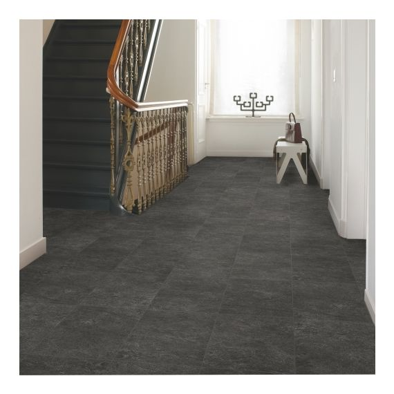 Quick-Step Exquisa Slate Black Tile EXQ1550 Laminate Flooring