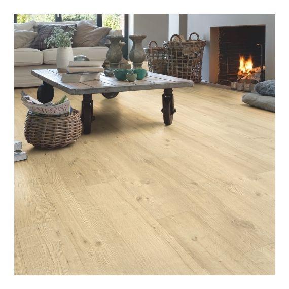 Quick-Step Impressive Ultra Sandblasted Oak Natural Planks IMU1853 Laminate Flooring