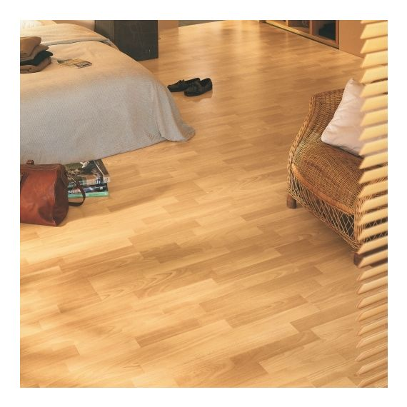 Quick Step Classic Enhanced Beech 3 Strip CL1016 Laminate Flooring