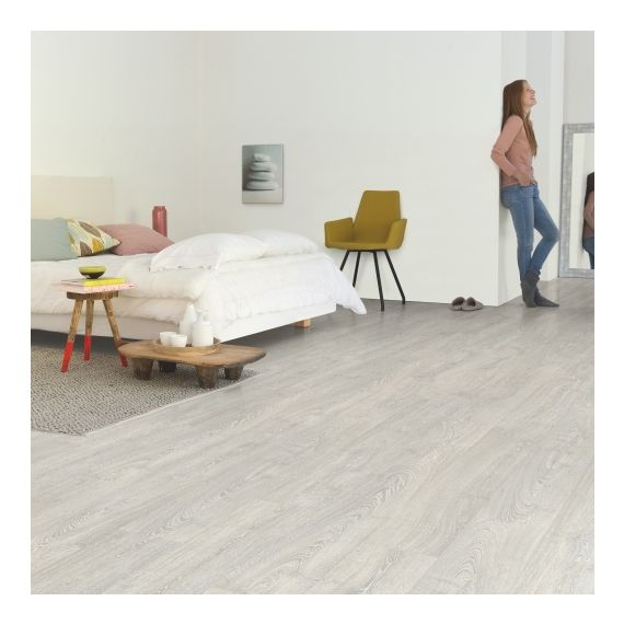 Quick-Step Flooring Impressive Ultra Patina Classic Oak Grey Planks IMU3560 Laminate Flooring