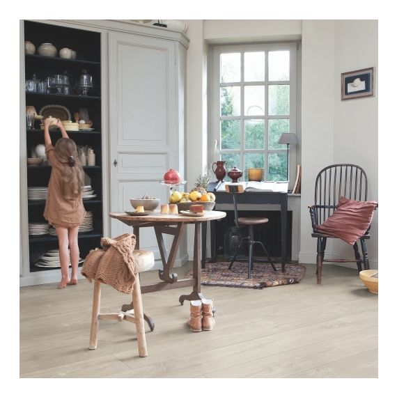 Quick-Step Flooring Largo Dominicano Oak Grey Planks LPU1663 Laminate Flooring