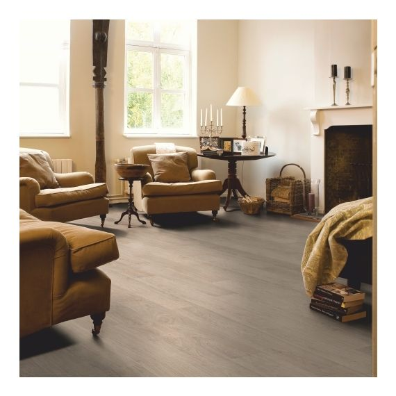 Quick Step Classic Bleached White Oak CLM1291 Laminate Flooring