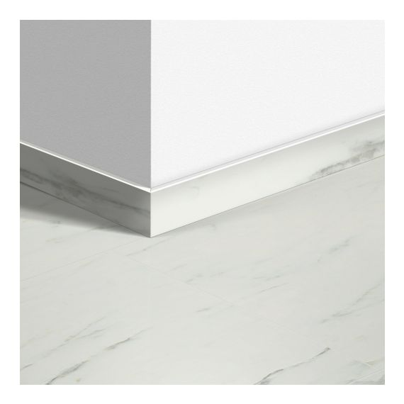 Quick-Step Livyn Waterproof Skirting Boards Marble Carrara White