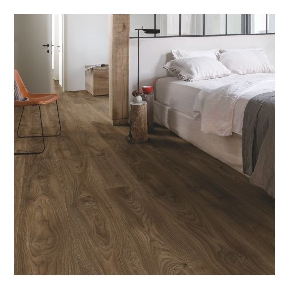 Quick Step Livyn Balance Plus Click Cottage Oak Dark Brown BACP40027 Luxury Vinyl Flooring