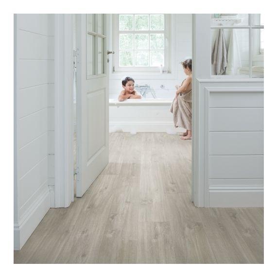 Quick Step Livyn Balance Plus Click Canyon Oak Grey With Saw Cuts BACP40030 Luxury Vinyl Flooring