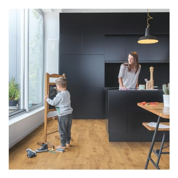 Quick Step Flooring Livyn Pulse Plus Click Autumn Oak Honey PUCP40088 Luxury Vinyl Flooring