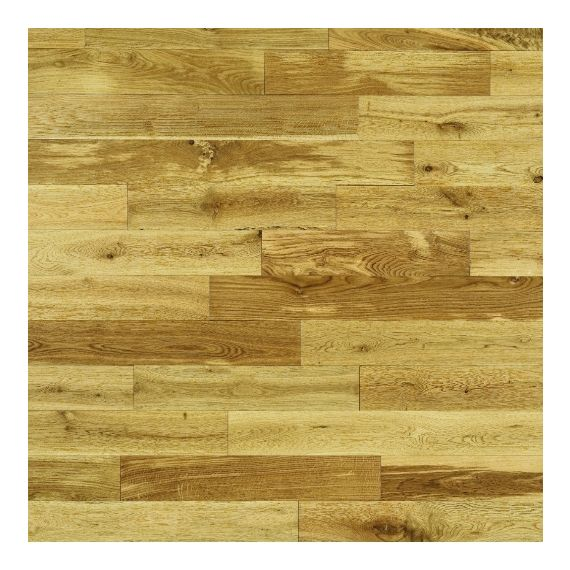 Elka Solid Wood Flooring 18mm Rustic Oak Lacquered
