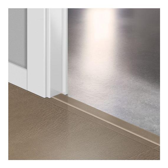 Quickstep Incizo Door/Stair Profiles Arte Leather Tile Dark