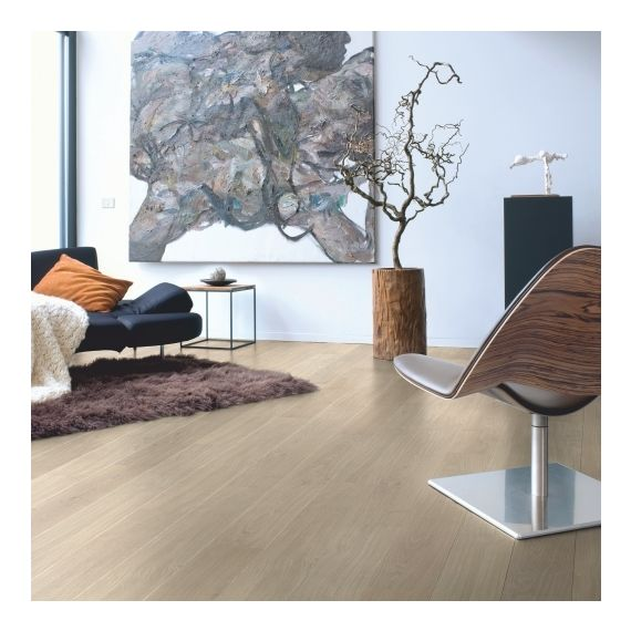 Quick-Step Flooring Elite Light Grey Varnished Oak Planks UE1304 Laminate Flooring