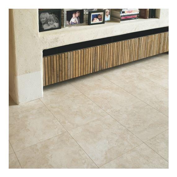 Quick-Step Exquisa Tivoli Travertine Tile EXQ1556 Laminate Flooring