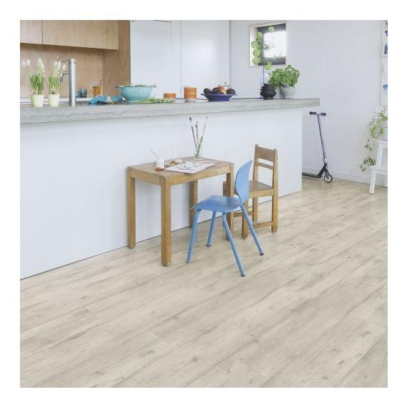 Quick-Step Flooring Impressive Concrete Wood Light Grey Planks IM1861 Laminate Flooring