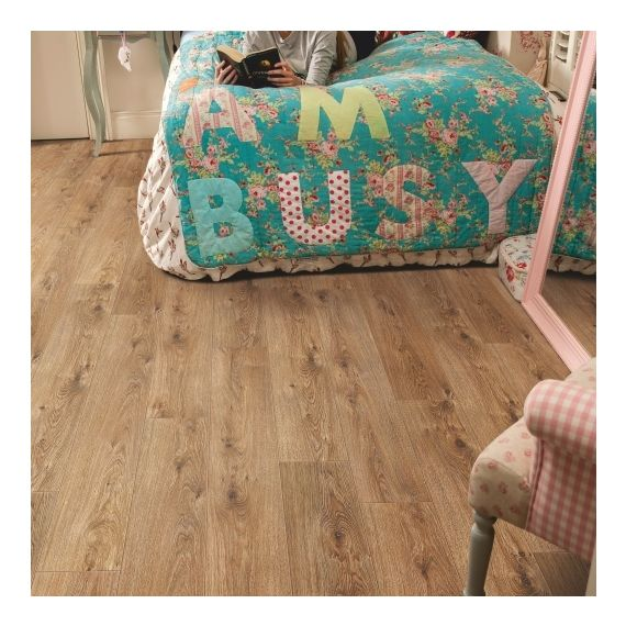 Elka Cinnamon Oak 12mm V4 Laminate Flooring