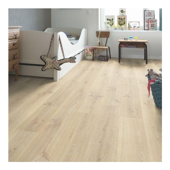 Quick Step Creo Tennessee Oak Light Wood CR3179 Laminate Flooring
